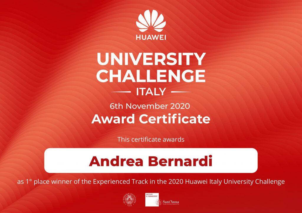 Huawei_Attestato_Andrea Bernardi-1